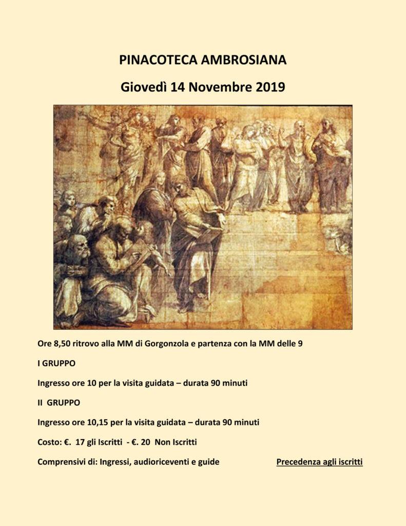 Pinacoteca Ambrosiana – Università del Tempo Libero di